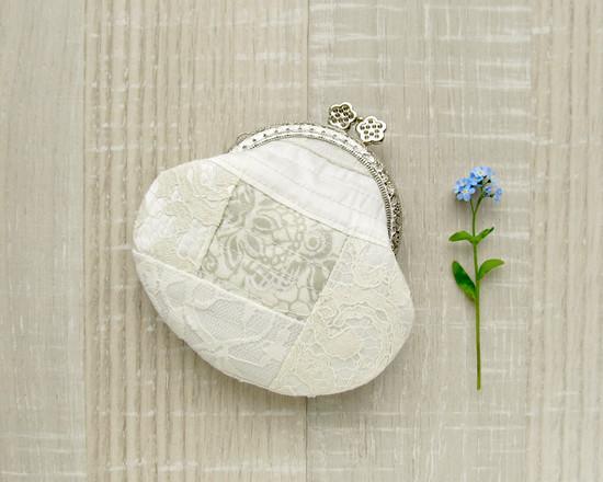 Coin purse lace, лоскутной кошелек