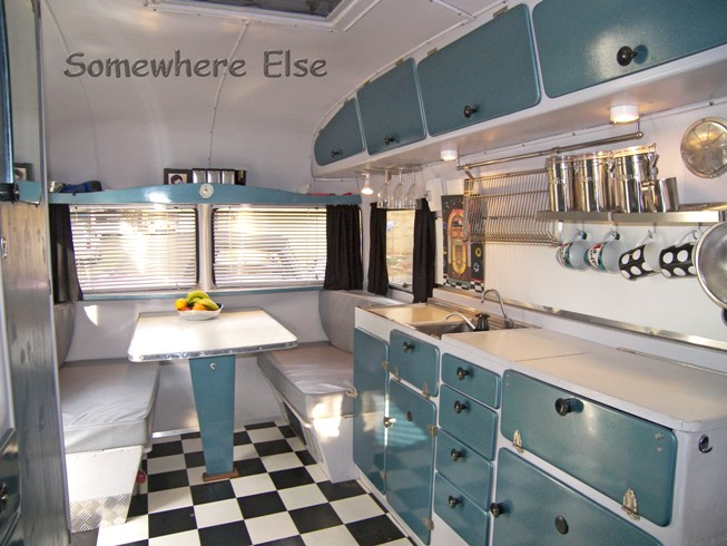 Lastest Interest In Old Caravans Is Spiking, Evidenced By Rising Prices And Membership In Retro And Vintage Clubs  Installs Beds And His Partners Mum Makes Curtains And Upholstery Interiors And Exteriors Get Painted, Bumps And Dents Fixed And