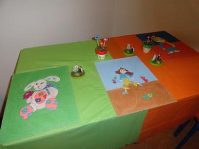 Trabalhos realizados no Atelier de Expressão Plástica
