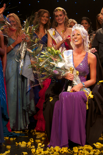 Miss World Sweden 2012 winner Sanna Jinnedal