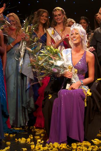 Miss World Sweden 2012 winner Sanna Jinnedal