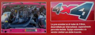 detalle 4x4 ford ranger