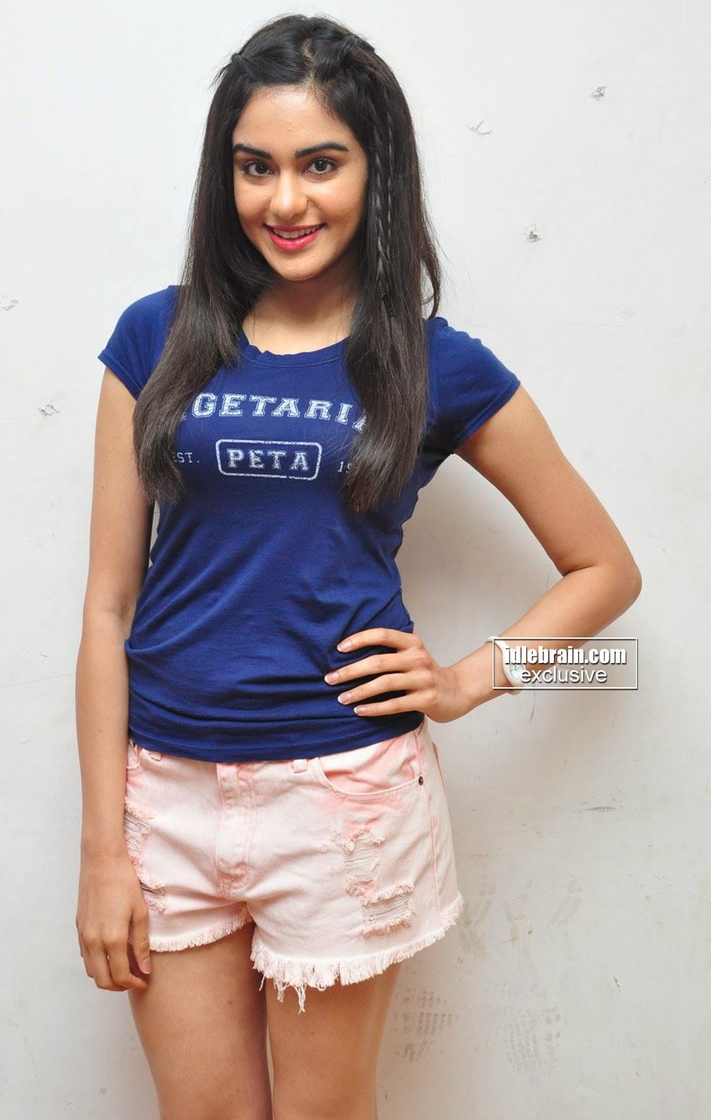 telugu actress in shorts