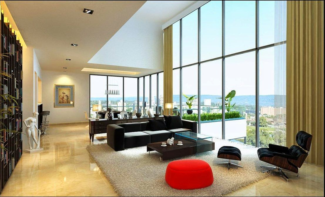 7 home design ideas contemporary living room - Home Design Hd