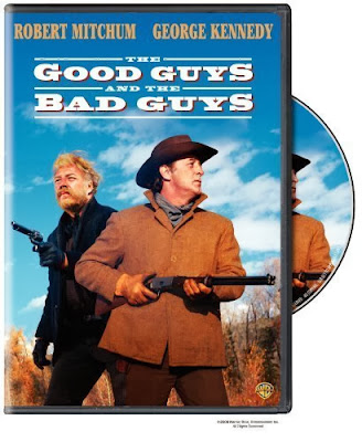The Good Guys and the Bad Guys (released in 1969) - Starring Robert Mitchum, George Kennedy and Martin Balsam