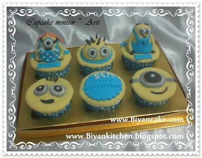 Cupcake minion