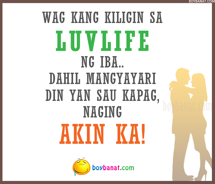 Tagalog Love Text Messages and Pinoy Love SMS Quotes ~ Boy Banat