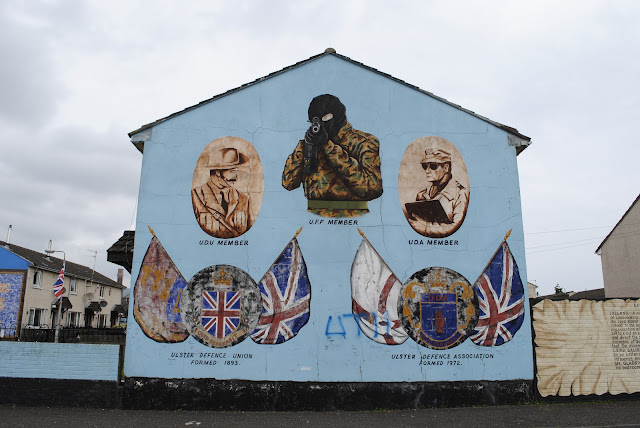 Loyalist Mural Belfast, Northern Ireland