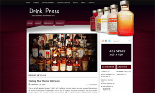 Drink Press WordPress Theme