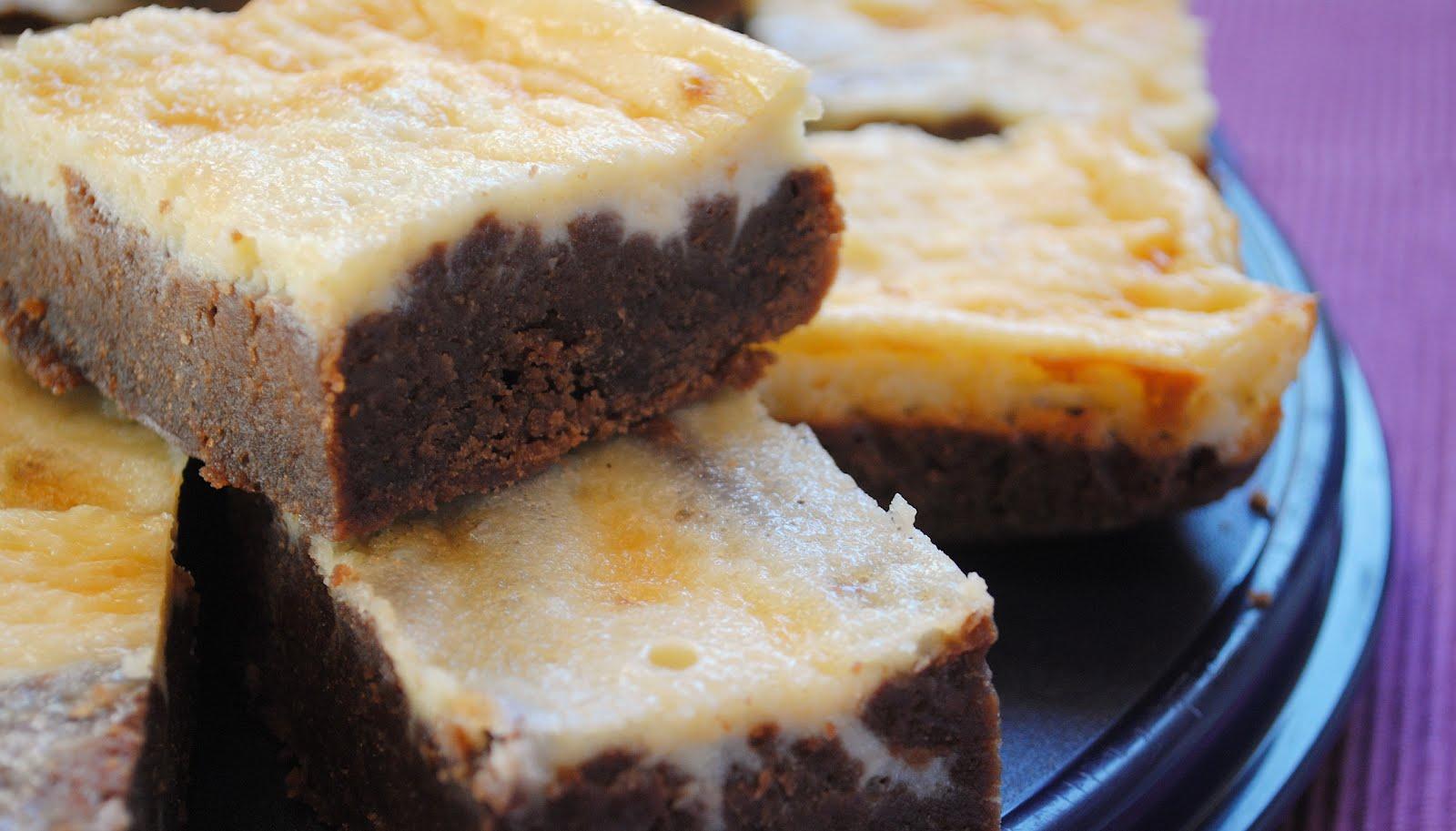 Küchenzaubereien: Cream Cheese Brownies