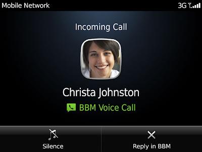 Cara Nelpon Gratis dengan Blackberry | BBM Voice Call