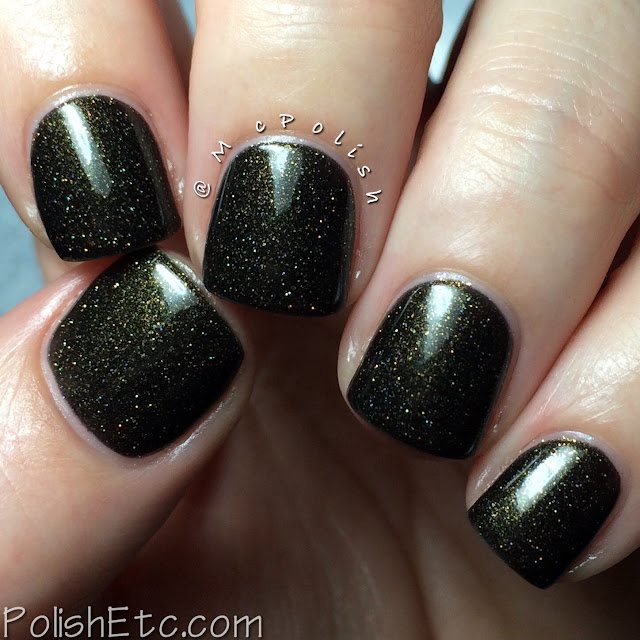 Lavish Polish - Christmas Collection 2015 - McPolish - On the Naughty List