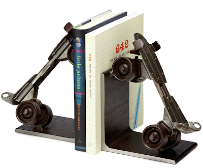 roller skate bookends