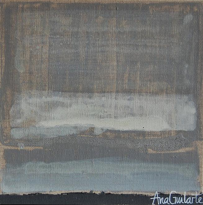 116. UNTITLED. Framed 25x25cm Sold/Vendido
