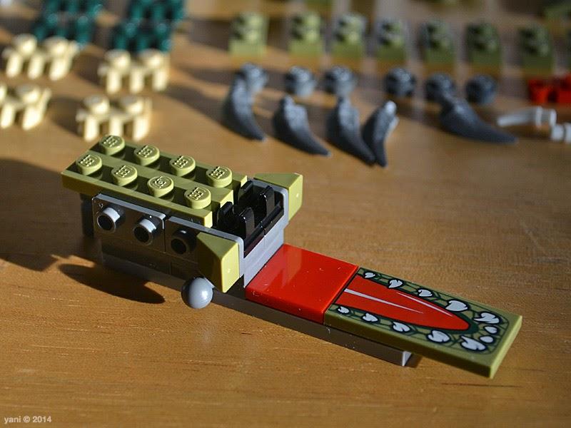 lego chima legend beast crocodile - open up and say ahhhhhhhhh