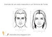 Saiba mais sobre o desenho acima clicando AQUI ou acessando: (andredelima dicas de desenho frente diferencas homem mulher modelo)