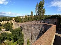 La Muralla. Girona. Època romana. Monuments.