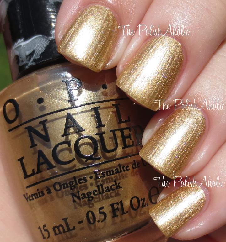 Opi Gold Chrome Nail Polish   Best Nail Designs 2018