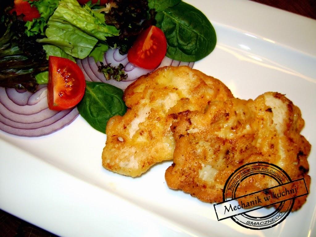 Kotleciki drobiowe Mechanikw kuchni  Pomysł na kurczaka majonez dekoracyjny rukola