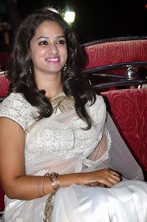 Actress Nanditha Raj Picture Gallery in Saree at Krishnamma Kalipindi Iddarini Movie Audio Launch  6