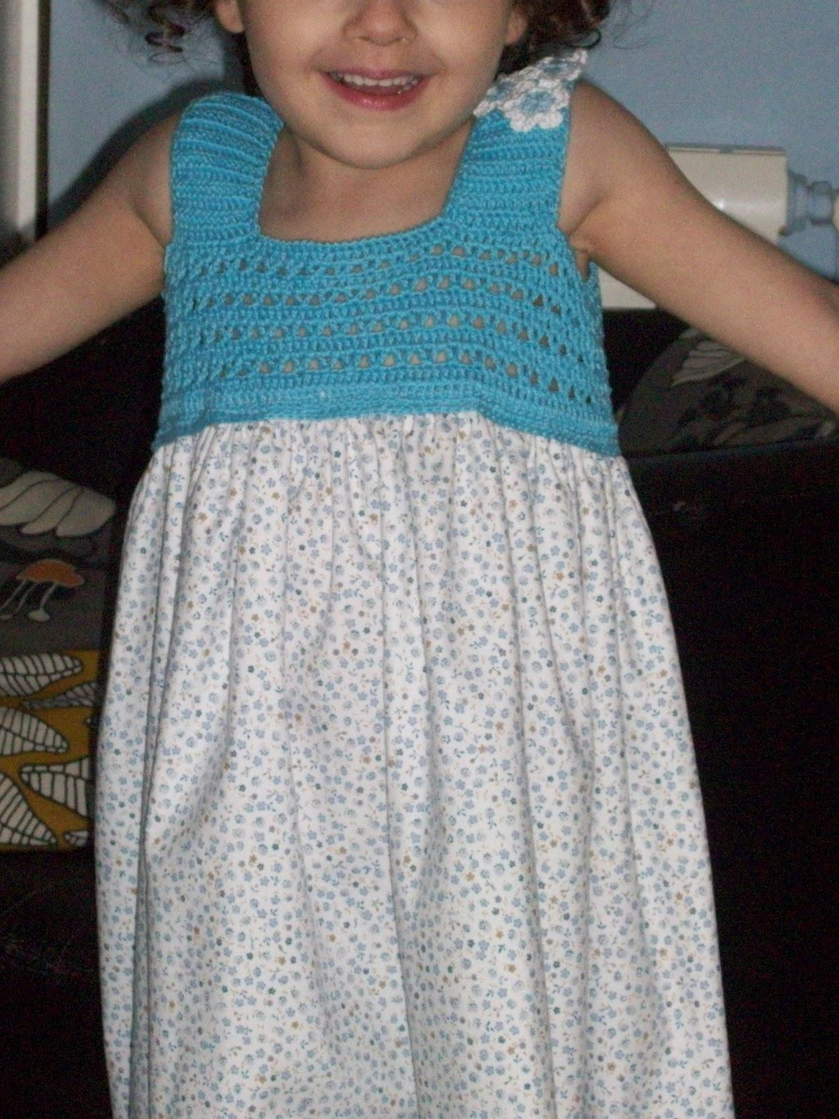 TRICO y CROCHET-madona-mía: Vestidos de Verano para niñas con ...
