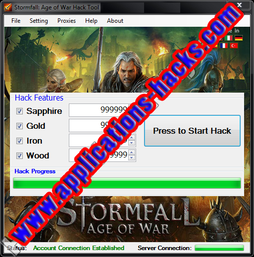 Stormfall: Age Of War Cheats and Hack v.1.61