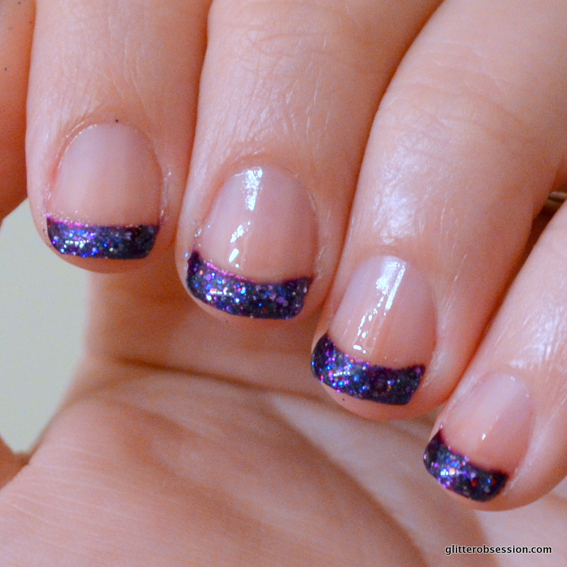 Purple Nail Designs For Short Nails