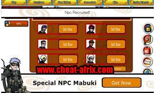 Cheat Ninja Saga NPC