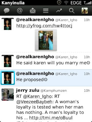 Is Karen Igho Engaged? 2
