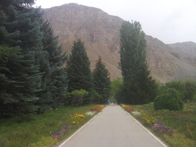 Pamir botanic garden