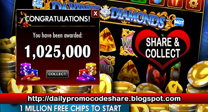 Free share online promo codes for doubledown casino