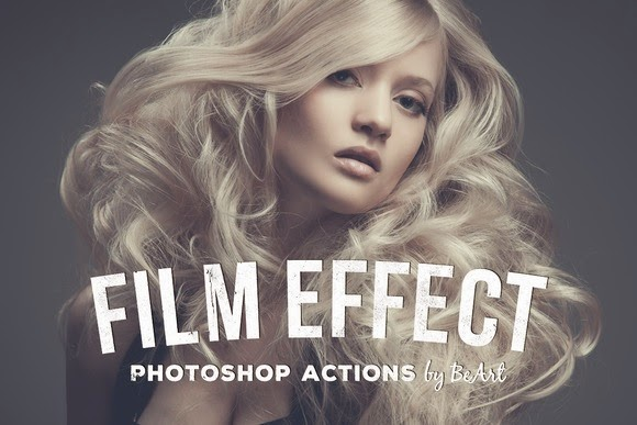 Film Effect 15 Premium Photo Actions & 15 Camera RAW Presets