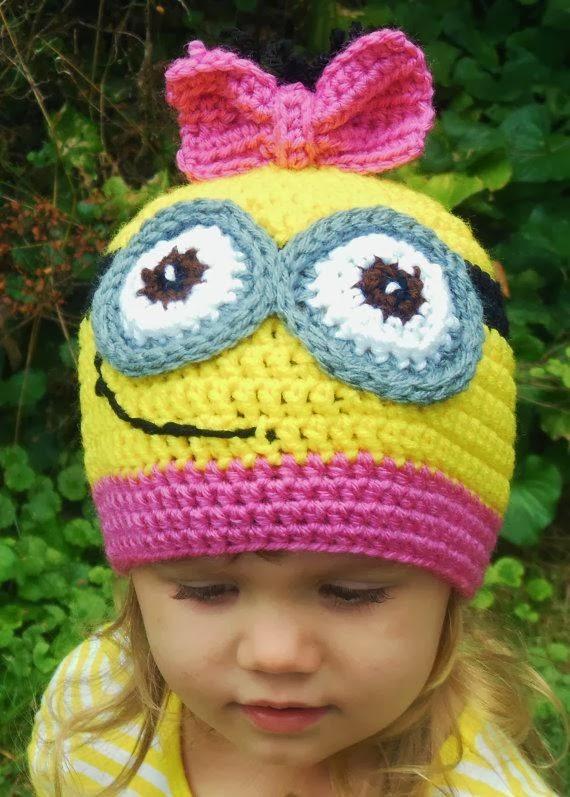 Crochet Minion Beanie Hat Pattern : Ideas & Products: Crochet Minion Hat