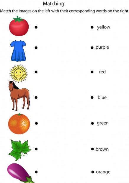 Lembar Kerja Bahasa Inggris Tentang Warna Info Guru Honorer