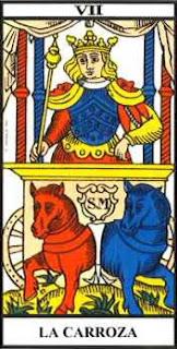 ARCANO MAYOR VII: EL CARRO DE HERMES