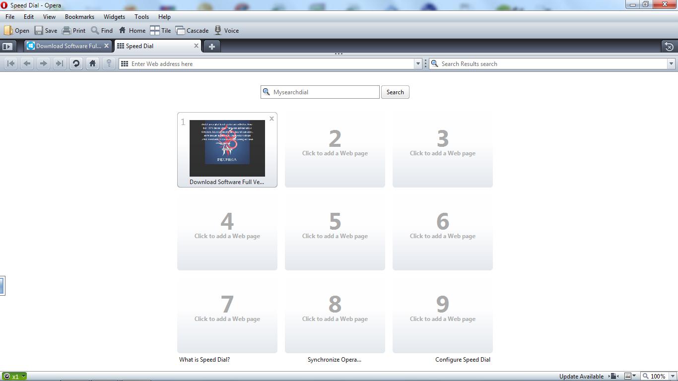 Opera Web Browser 24.0.1558.53 / 25.0.1614.5 Dev Update