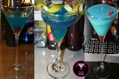 cócteles color azul