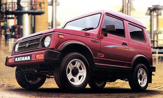 Harga Suzuki Katana Tahun 2000 - 2006 Mobil Lengkap Update 2013