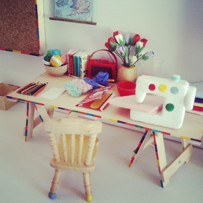 Doll House Craft Room