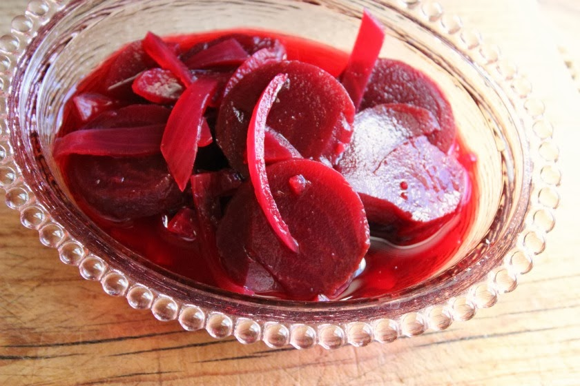 Comfy Cuisine: Roasted Pickled Beets and Onions