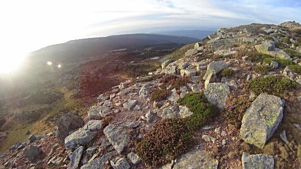 Subida hacia el Urbión desde Duruelo de la Sierra.