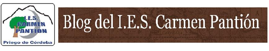 Blog del I.E.S. Carmen Pantión