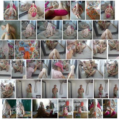Krysia to uszyła - króliczka Martynka tutorial - sesja zdjęciowa