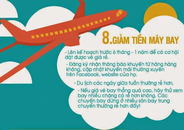 Kinh nghiệm giúp bạn tiết kiệm tiền khi đi du lịch