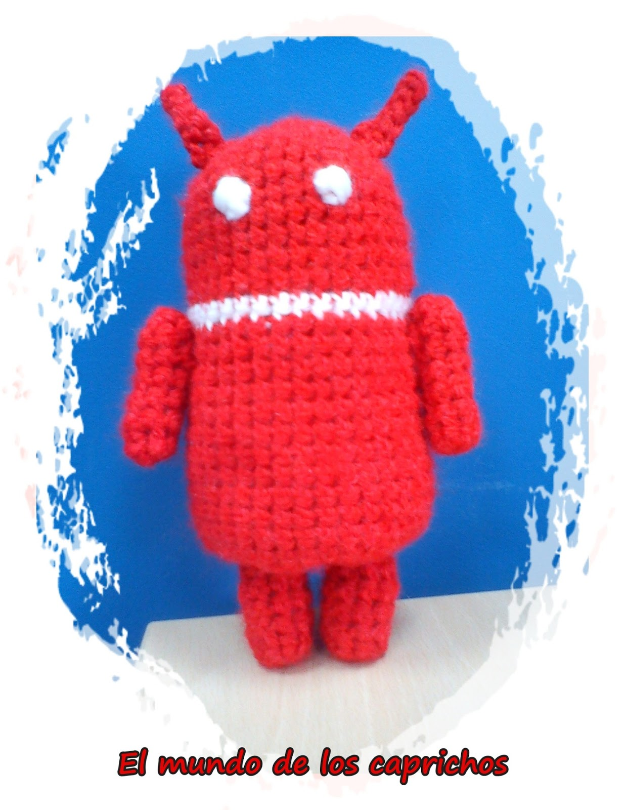 Cerdo Angry Birds Amigurumi : Amigurumis seta roja, cerdo angry birds y android. EL ...