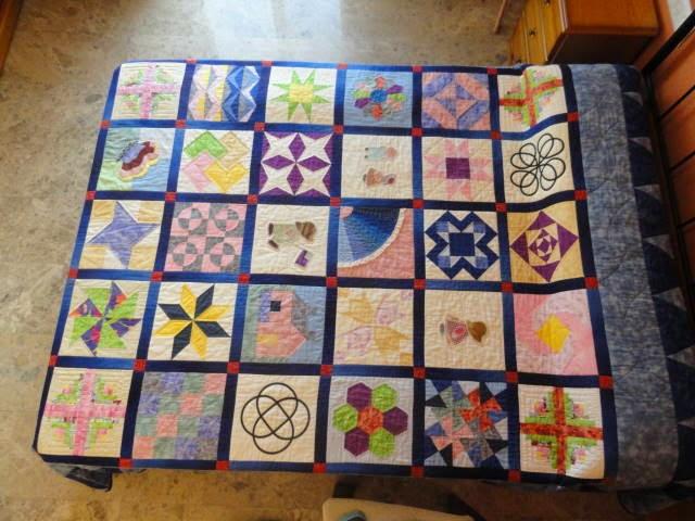 Patchwork desde la alpujarra colcha muestrario de - Colchas de patchwork modernas ...