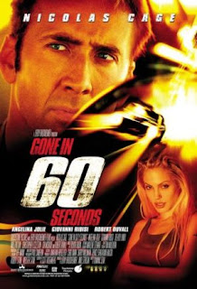 Action thriller - Gone in 60 seconds (starring Nicholas Cage, Angelina Jolie and Robert Duvall)