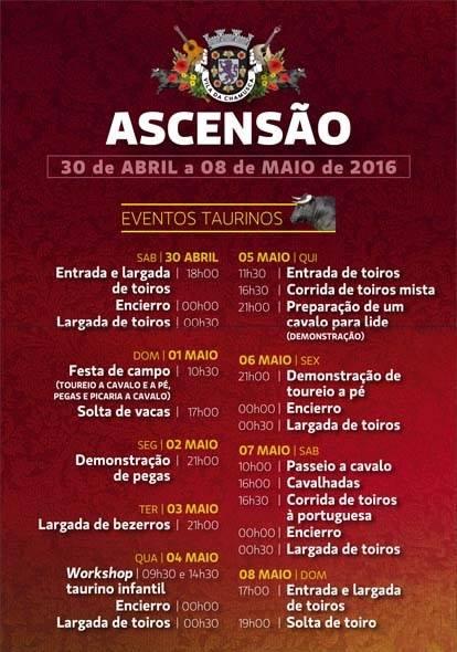Chamusca- Feira da Ascensão 2016