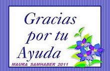 Regalo de Agradecimiento de mi amiga Maura