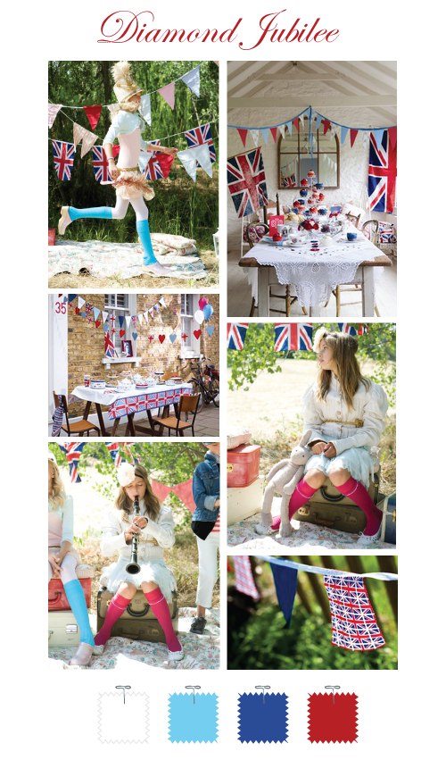 British Diamond Jubilee Inspiration